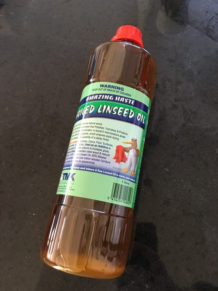 Boiled Linseed Oil 1Litre