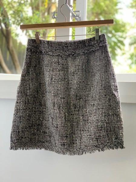 7389dacd Zara Tweed Skirt (as new)   Trade Me