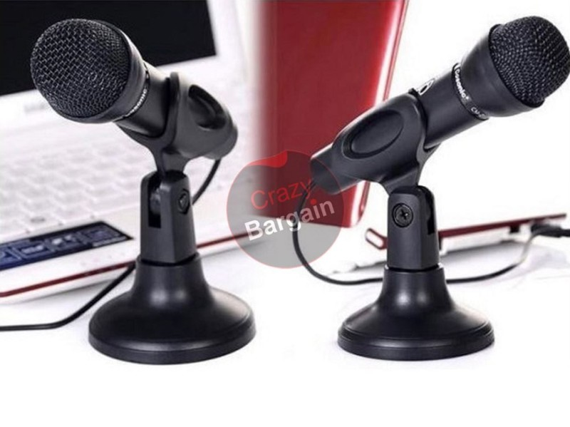 microphone recording microphone plug and play computer microphone mic trade me. Black Bedroom Furniture Sets. Home Design Ideas