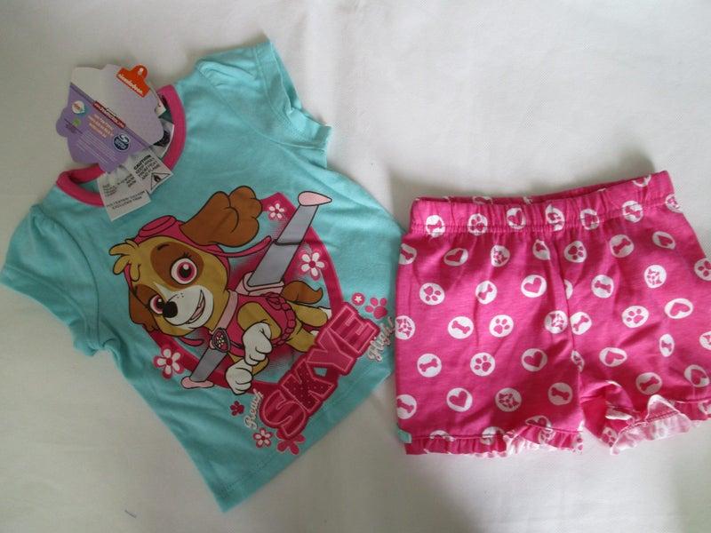 9de10235917 NEW PAW PATROL Summer Pyjamas 9-12 months | Trade Me