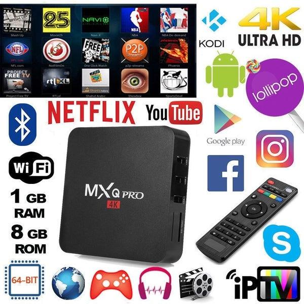 MXQ Pro 4K - Smart TV Box T96 | Trade Me