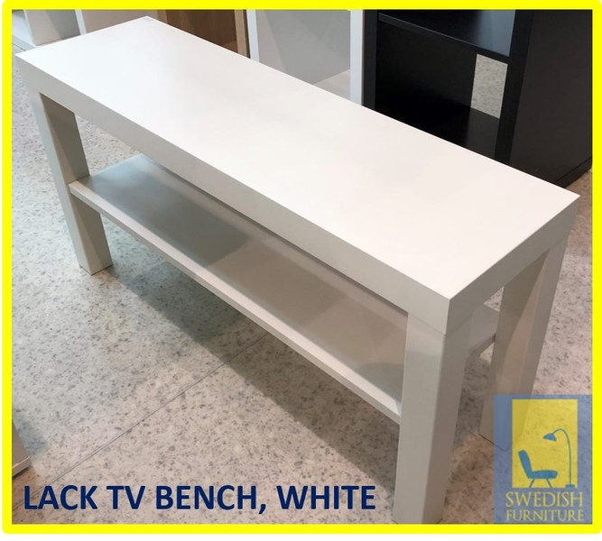 Ikea Lack Tv Bench White Trade Me
