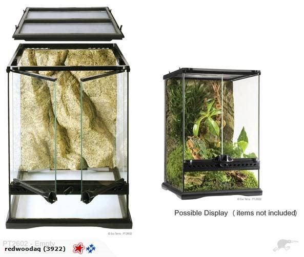 Exo Terra Glass Terrarium Reptile Habitat Trade Me