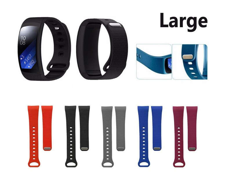 Replacement Wrist Strap for Samsung Gear Fit 2 / Fit 2 Pro- Large