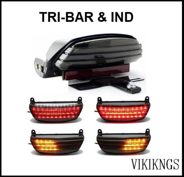 TAIL STOP LIGHT, IND , TRI-BAR , HARLEY | Trade Me Harley Ping Light Wiring Harness on
