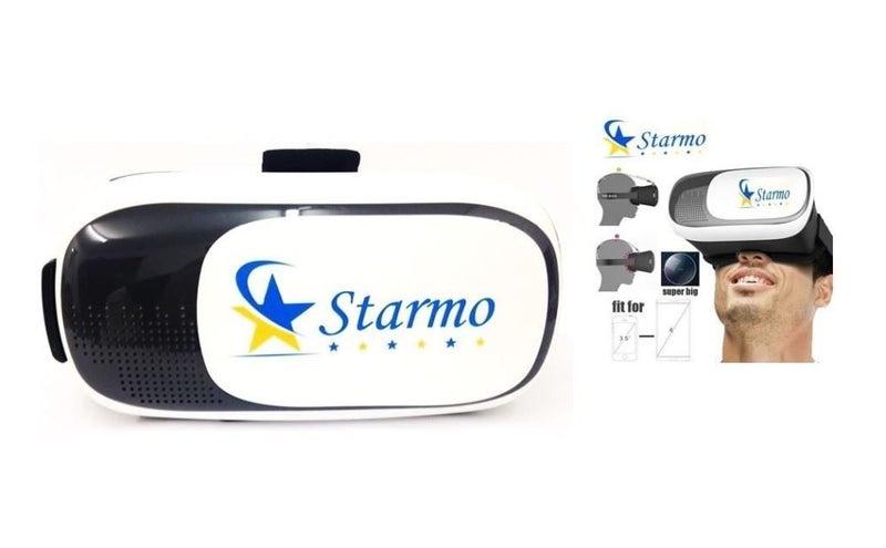 12a1839839ef Starmo White 3D VR Glasses Box Virtual Reality Headset