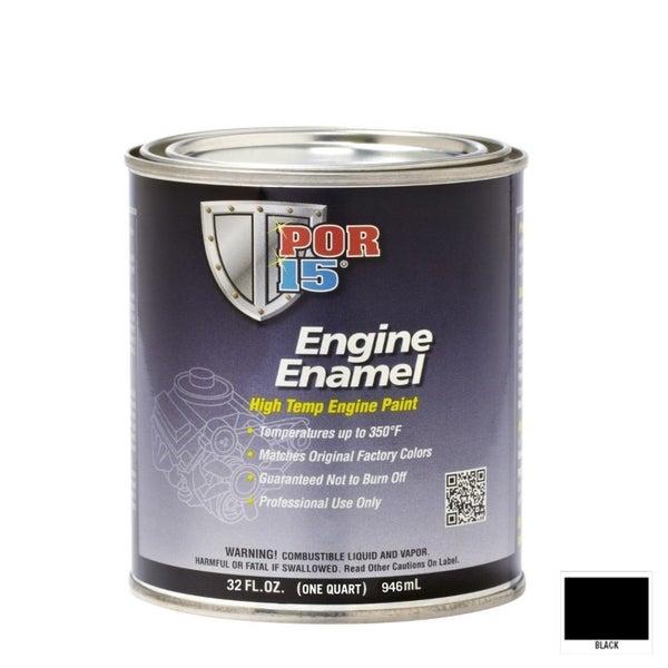 POR-15 BLACK Engine Enamel | Quart (973mL) | Trade Me