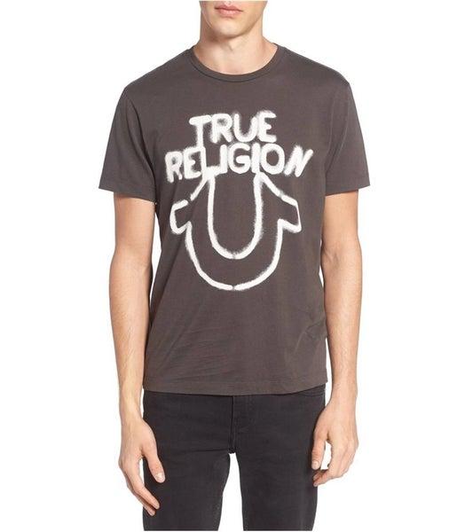 c816ce56d True Religion Mens stencil Horse Shoe Graphic T-Shirt | Trade Me