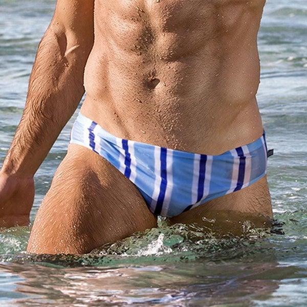 105e9eb591 Summer Men Swimming Trunks Swimwear Boxers Swim Brief Beach Seaside Board  Shorts | Trade Me