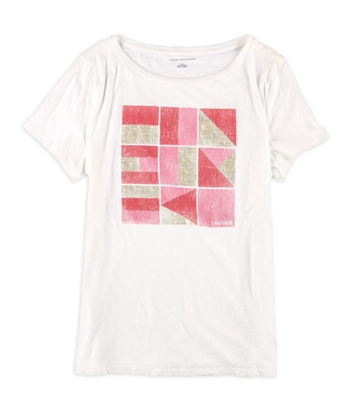 7413668f Tommy Hilfiger Womens Florance Flag Graphic T-Shirt | Trade Me