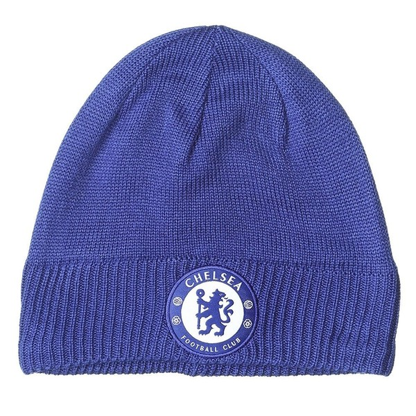 ADIDAS chelsea football beanie hat  blue   10eaeef54e8