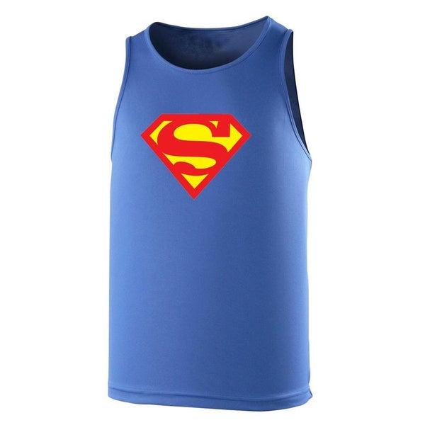 4b01733e0afdb SUPERMAN performance training singlet   gym vest  royal