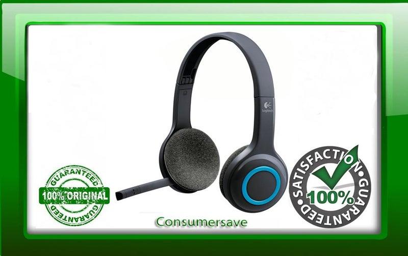 Logitech H600 USB Wireless Headset Over Head 24 Month Return to Base  Warranty
