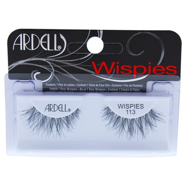 0d1bd80f9a6 Ardell Glamour Lashes - # 113 Black Eyelashes 1 Pair Make Up   Trade Me