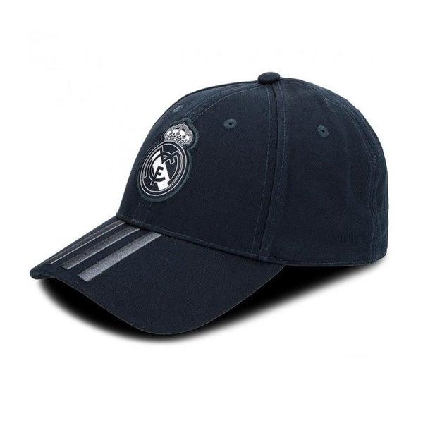 afee5631902 ADIDAS Real Madrid 3 Stripe cap  black