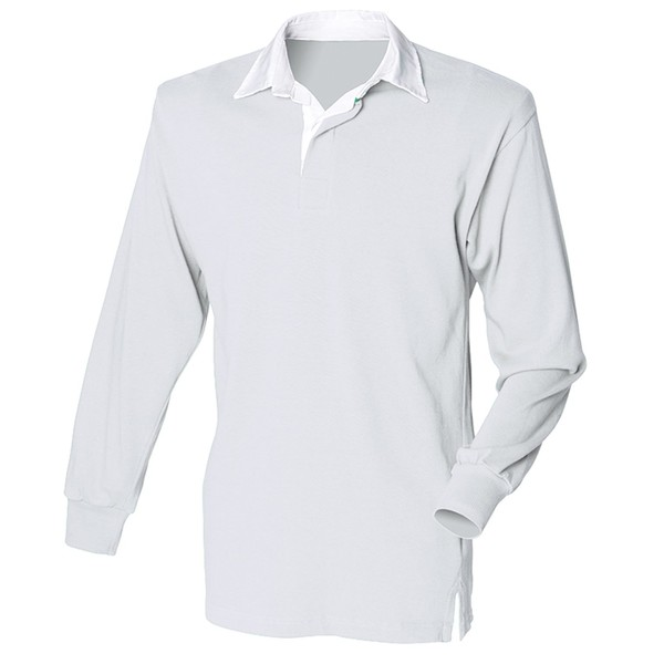 a7451ed8197 Front Row Long Sleeve Classic Rugby Polo Shirt   Trade Me