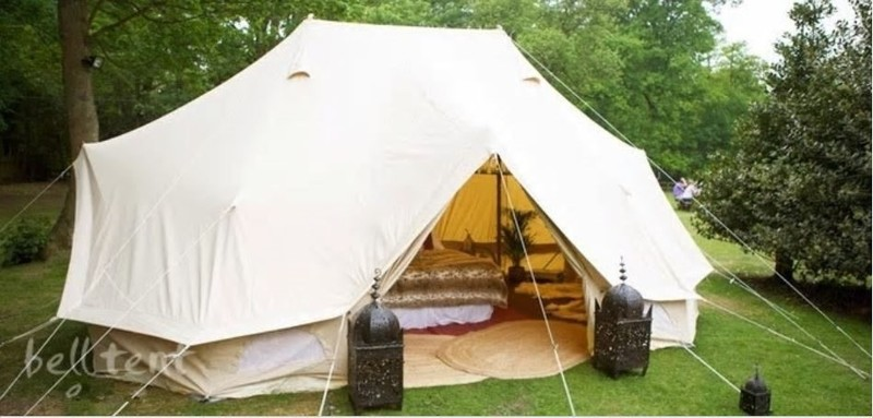 new styles 5eb7c e44b9 *SAVE $200* 6 x 4m Emperor Bell Tent, Cotton Canvas - Spacious Family  Glamping