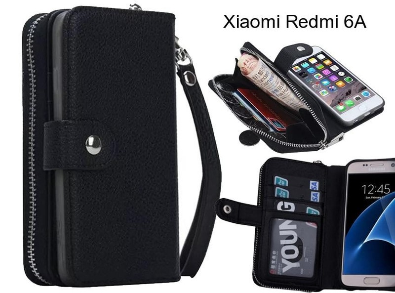 best sneakers f0afa 92ae1 Xiaomi Redmi 6A Case coin wallet case full wallet leather case