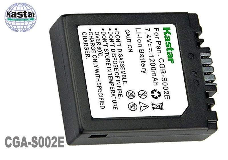 BATERIA para PANASONIC Lumix DMC-FZ1PP FZ2 FZ2A FZ2A-S
