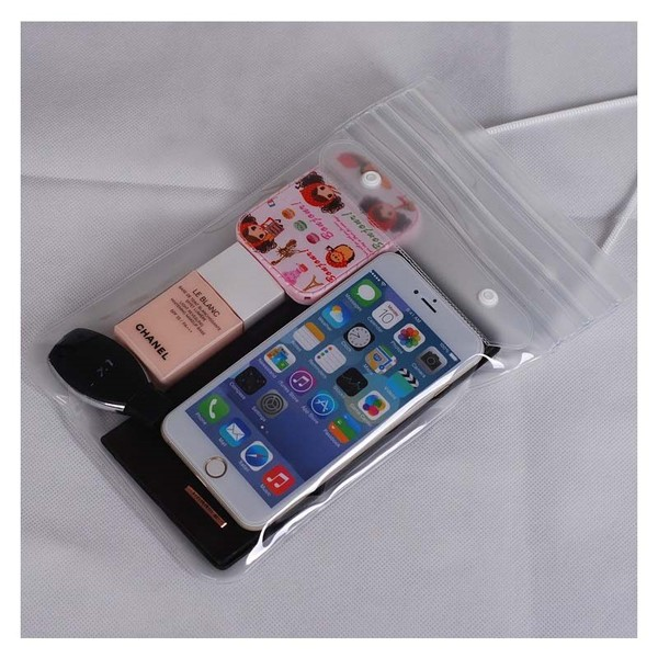 wholesale dealer aa297 ab697 2pcs/lot Swimming Waterproof Phone Pouch Bag Holder Dry Protect Float Phone  Case