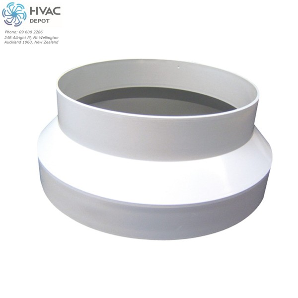PVC Reducer 200mm-150mm White