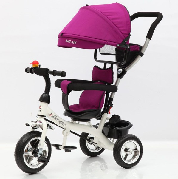 & Canopy Tricycle with pushing bar- 4 colour choose | Trade Me