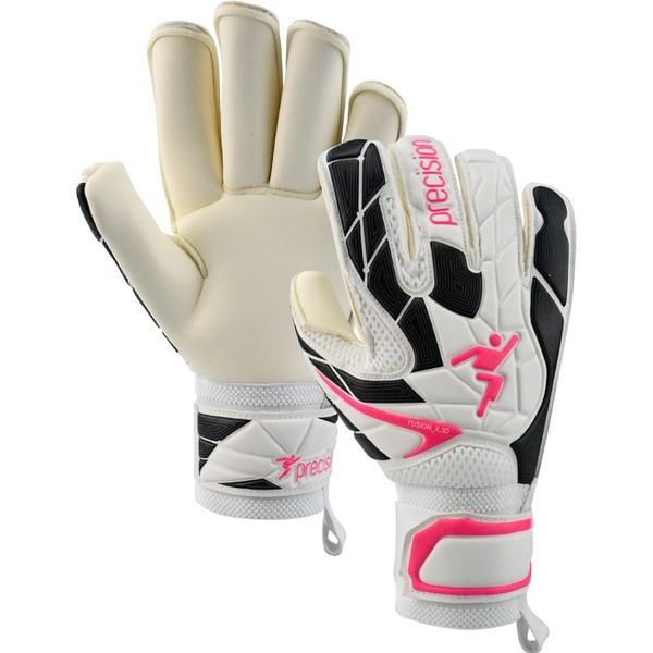 Precision Womens Fusion X.3D Roll Superlow Goalkeeper Gloves Size 6 White  9d9b88e28e