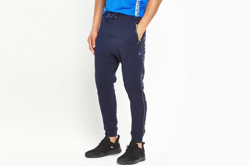 f770d39553c8ac Superdry Mens Sport Gym Tech Slim Joggers / Pants | Navy Blue | Trade Me