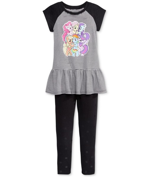 6372bf405 My Little Pony Girls 2-Piece Graphic T-Shirt | Trade Me