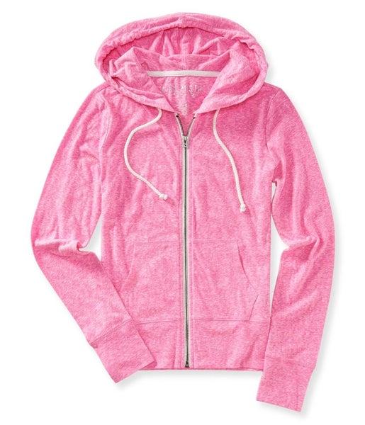 Aeropostale Womens Full Zip Hoodie Sweatshirt