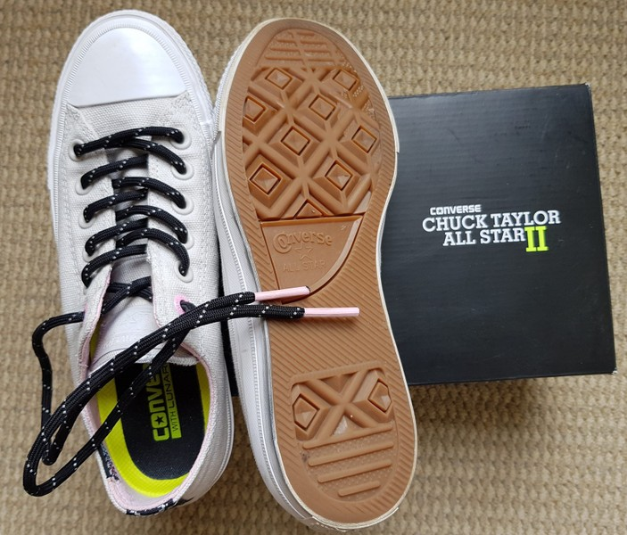 6e83d0aeb8ab CONVERSE Chuck Taylor All Star II – Mouse White Icy Pink - US7 ...