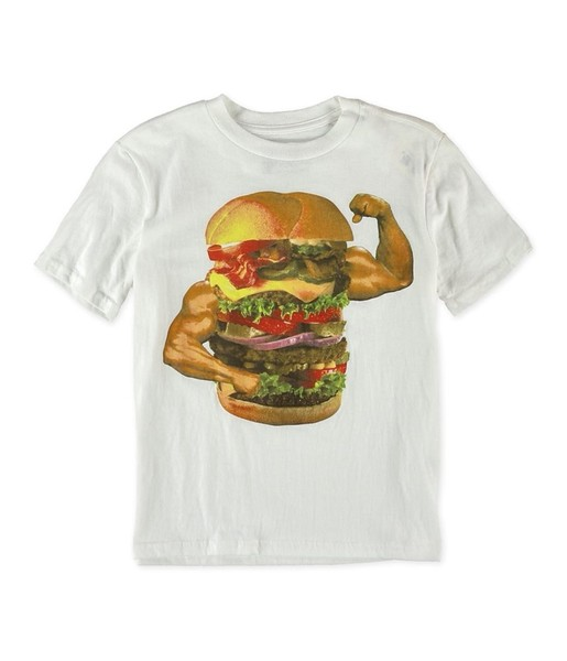 ae3a7d2bb Aeropostale Boys Muscle Burger Graphic T-Shirt | Trade Me