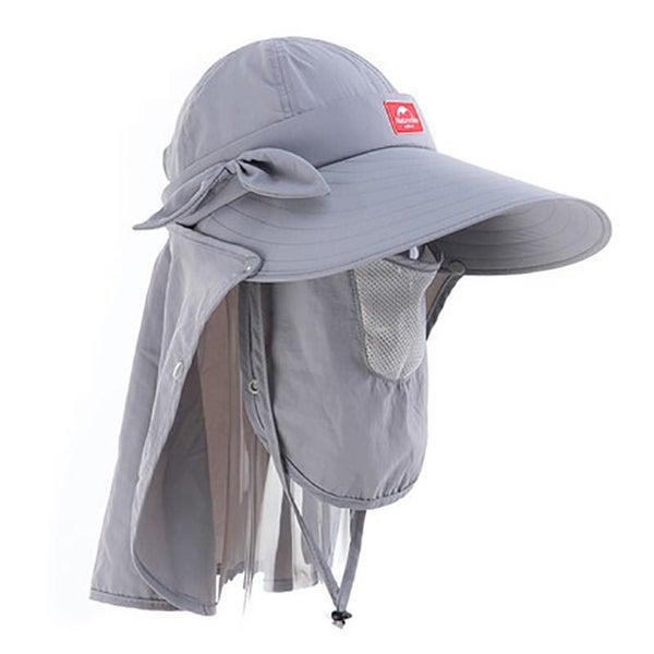 Women UV Protection Hat Summer Adjustable Cap Outdoor Fishing Cap Sunscreen  Hat  0810d262293