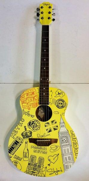 Skylark London Acoustic Guitar w/ FREE BAG!