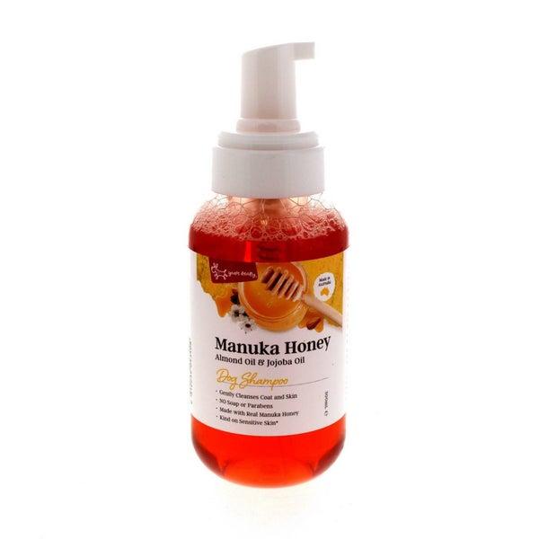 Manuka Honey Dog Shampoo Contains Almond Oil Jojoba Smooth Skin Hair 300ml