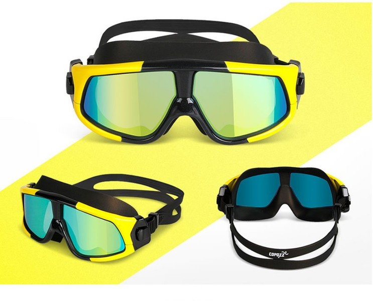 6db4799a5a2 Swimming Goggles Anti-Fog - Yellow