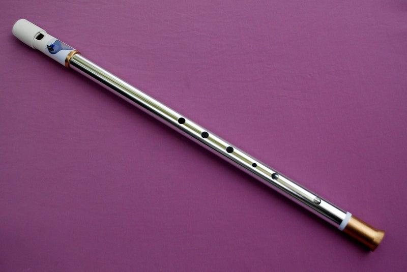 Kokako, Chrome Alto-G Tuneable Penny Whistle