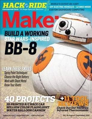 Make: Volume 46 by Jason Babler 9781457187124