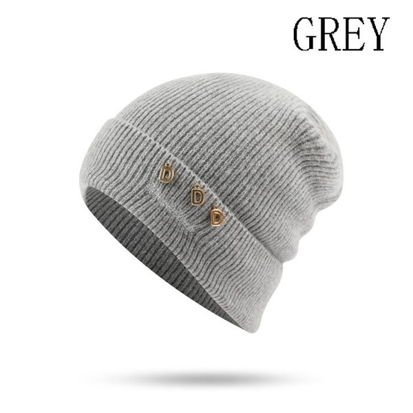 76ce5cd8f8d Autumn Winter Women Outdoor Knitted Hats Warm Fleece Cap Fashion Casual  Beanies