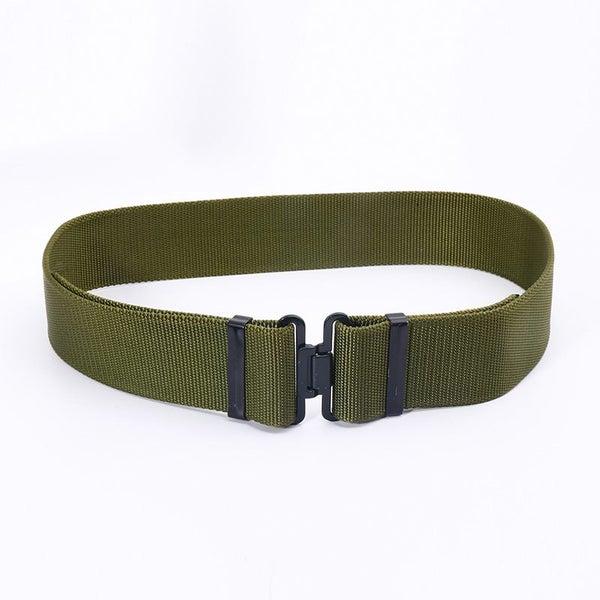 Outdoor Men Women Nylon Belts Military Tactical Waist Belt Army Combat  Training  c5c38ba23d