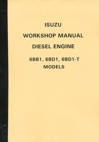 Cool Isuzu 6Bb1 6Bd1 6Bdi T Engines Workshop Manual Trade Me Wiring Digital Resources Antuskbiperorg