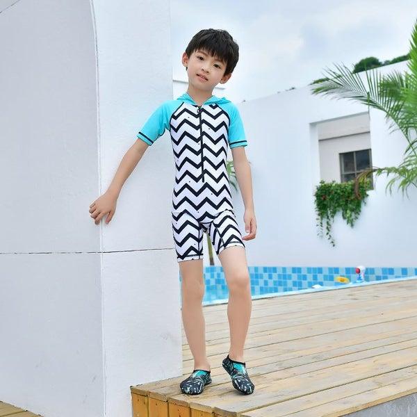 f2257ec017 Children Boys Girls Swimwear Swimsuit Sun UV Protection Bathing Suit  Beachwear   Trade Me
