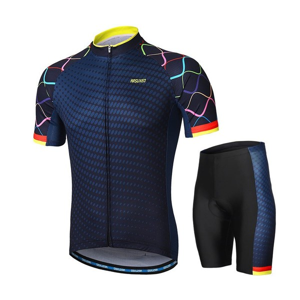 Summer Men Women Cycling Jersey Set Padded Road Bike Bicycle Clothing  Reflective  e91e5aba6