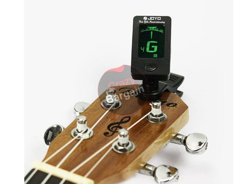 Clip On Guitar Tuner >> Clip On Lcd Digital Chromatic Electronic Guitar Tuner Bass Violin