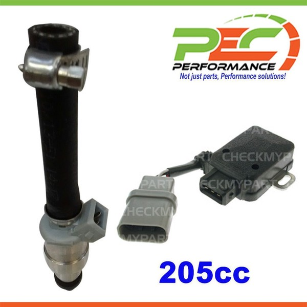 6x New * PEC * Fuel Injector + *OEM QUALITY* TPS For Nissan