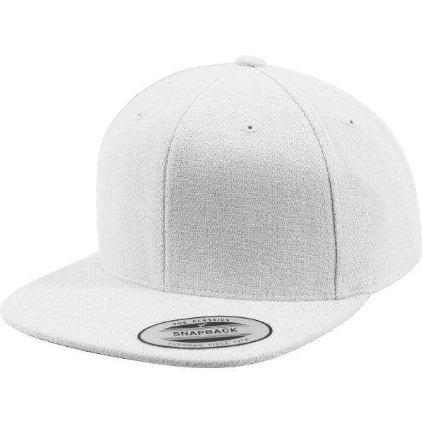 c6ac03a7717 Flexfit MELTON WOOL Snapback Cap