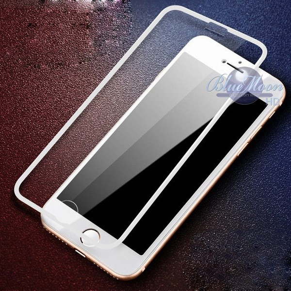 buy popular 1b27c 1dbc3 iPhone 8 Plus Full Cover TEMPERED GLASS Screen Protector