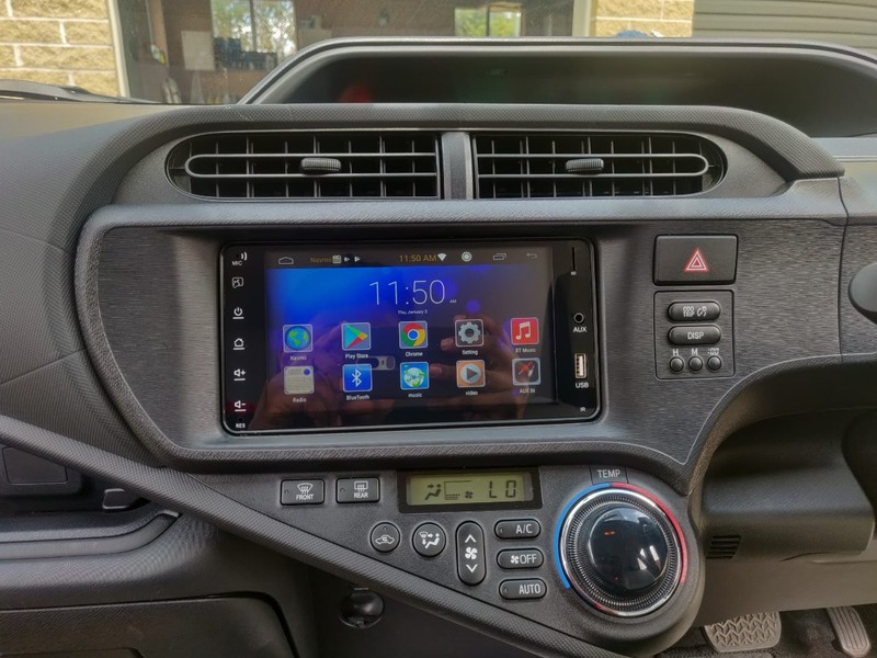 Toyota Prius C Stereo Fitted ANDROID, WiFi, GPS | Trade Me