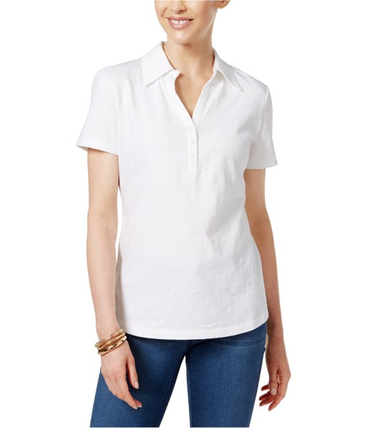 86c217d4 Karen Scott Womens Embroidered Polo Shirt | Trade Me