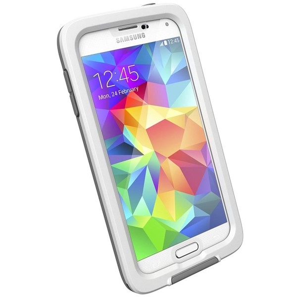new concept d9839 b1465 Genuine LifeProof FRE Samsung Galaxy S5 Case - White